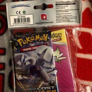 Pokemon Other - pokemon mini portfolio 1 tcg booster pack